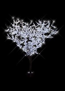 white LED Cherry Tree