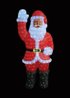 Acrylic LED Santa