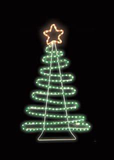 LED tree motif