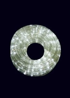 Cool white rope light