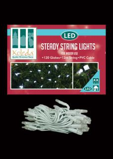 steady LED String lights