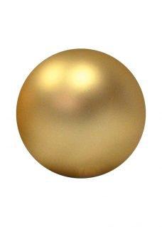 bauble matt gold
