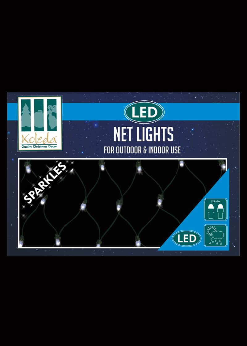 Led Net Lights 1 8m X 1 2m Outdoor Cool White