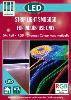 strip lights box