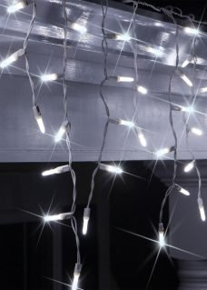 Icicle Lights LED cool white