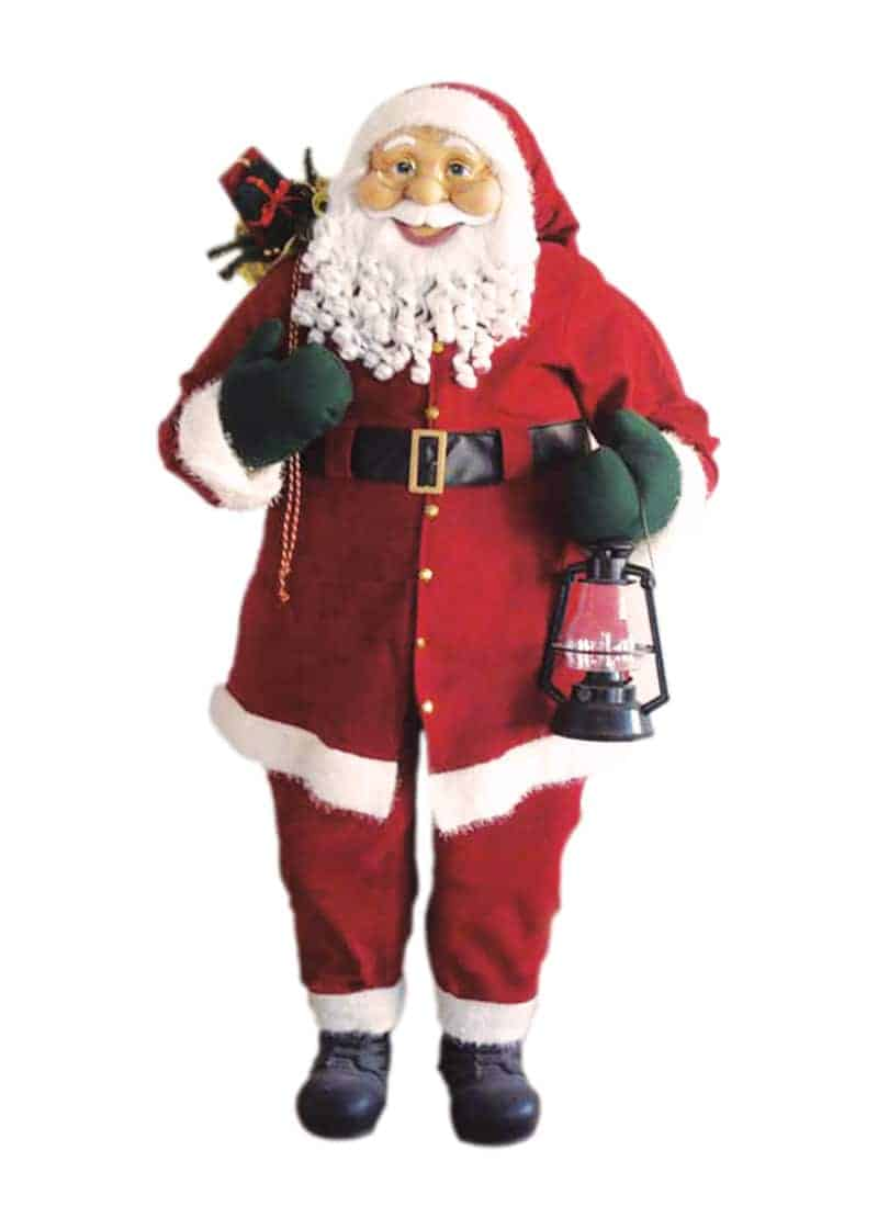 a420ef29b24921 Santa Standing Des13 1.8m Felt Red | The CPS Warehouse