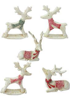white dolomite reindeer