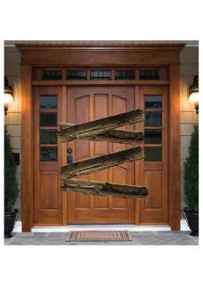 Wall Art Barricade doors and windows
