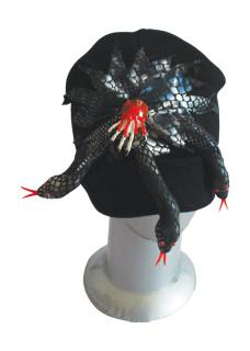 snakes head wear knitted hat