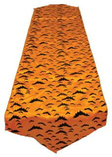 runner tablecloth orange