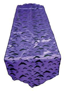runner tablecloth purple