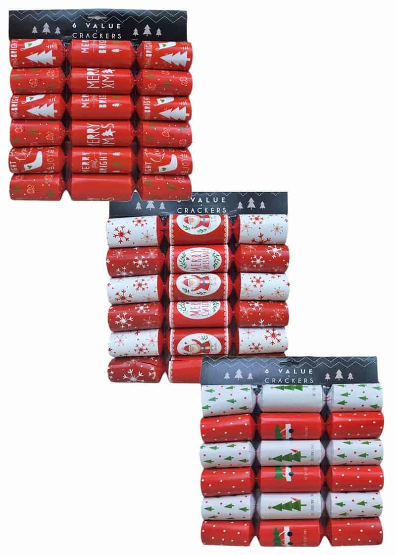 Value Pack Christmas Crackers