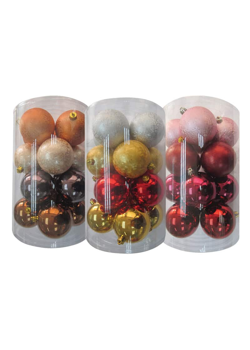 Decor Bauble Pack 8cm The Cps Warehouse