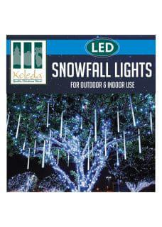 snowfall lights motif