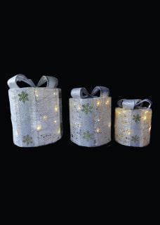 Round illuminated presents