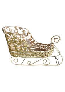Gold Sleigh 38cm