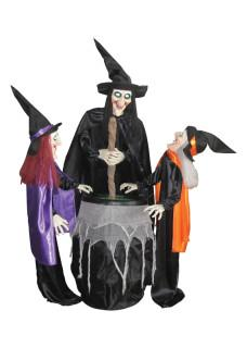 Witches and Cauldron