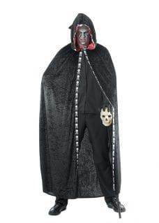 Hooded cape costume men