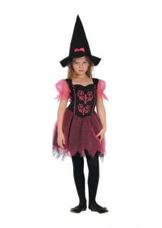 Witch dress costume girl