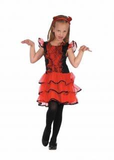Devil costume girl