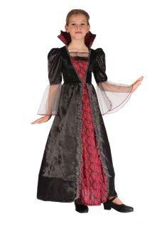 Vampiress costume girl