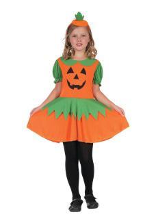 Pumpkin Dress costume Girl