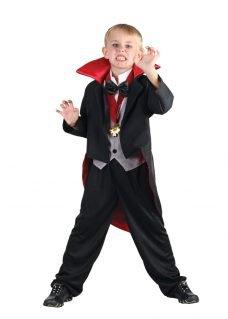 Vampire costume boy