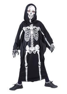 Skeleton costume boy