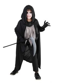 Reaper costume boy