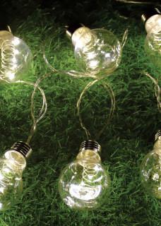 Round Edison bulb Lights