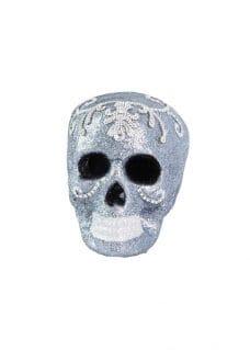 skull with diamond decor