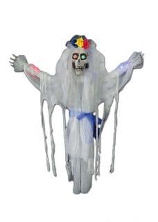skeleton bride halloween decor