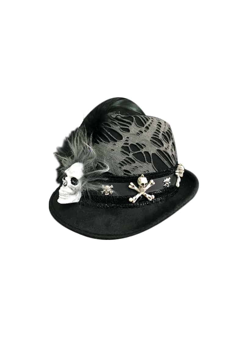 skull hat halloween dress up