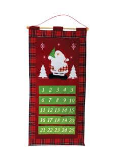christmas calendar felt