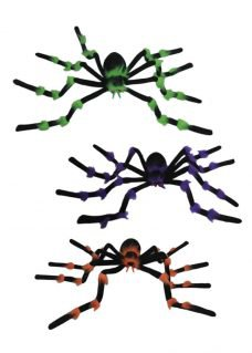 spiders with light up eyes