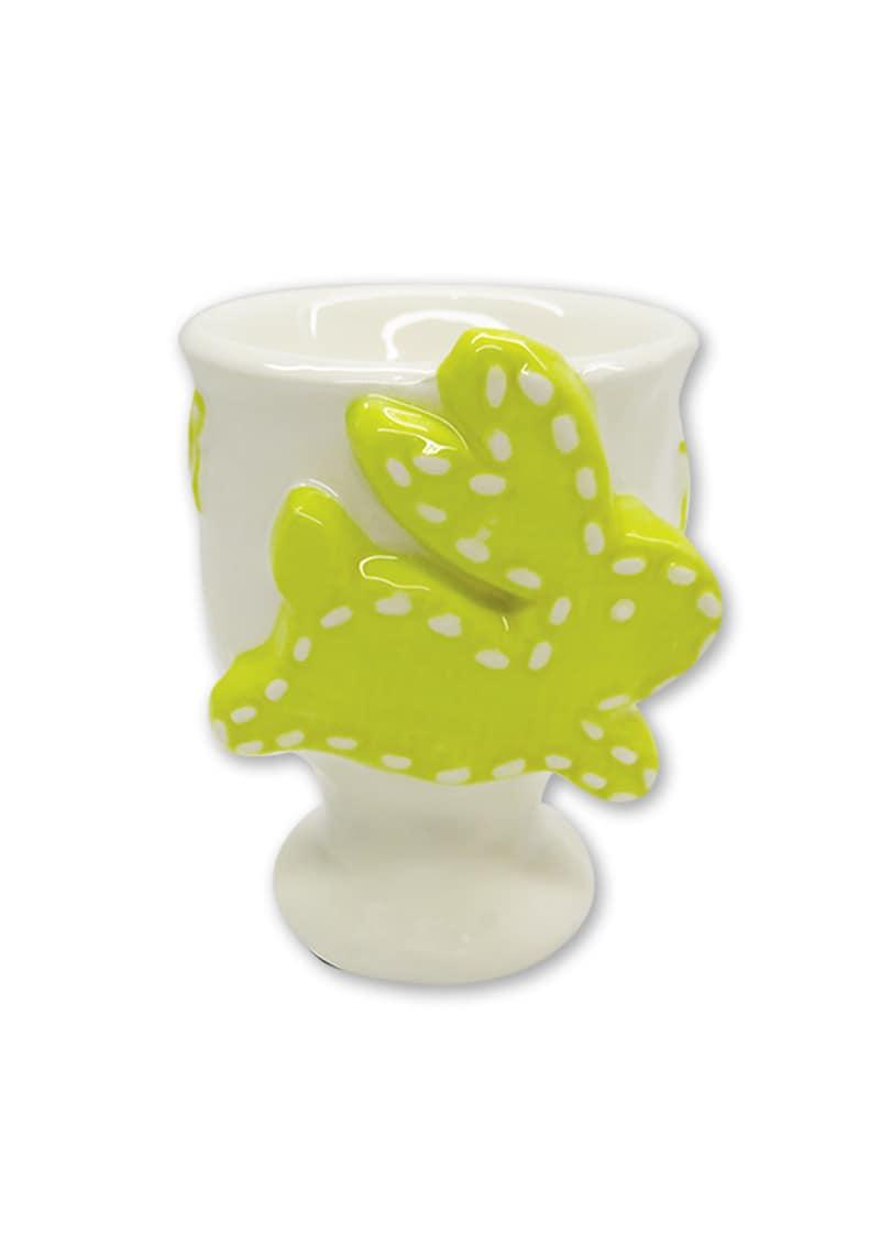 Yellow Egg Holder