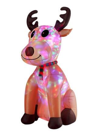 Inflatable Sitting Reindeer