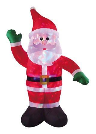 Inflatable Santa Waving