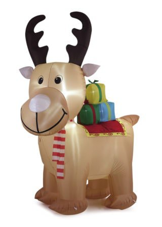 Inflatable Standing Reindeer