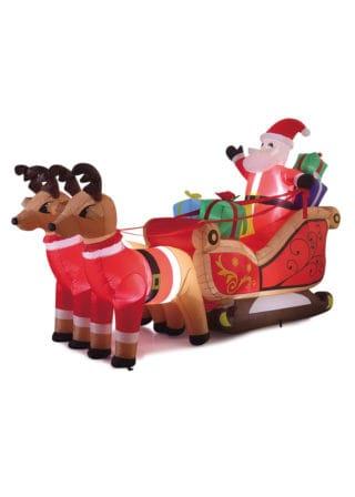 Inflatable Santa Sleigh