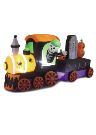 Inflatable Halloween Train