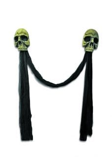 Archway with skulls