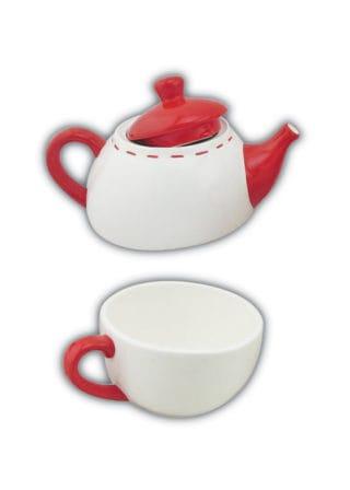 Teapot-wCup-Santa-&-Elf-White-17cm