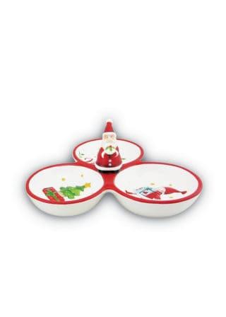 Bowl-3-Divide-Snack-SantaTreeCake-20cm