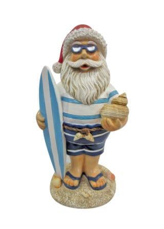 santa w surfboard