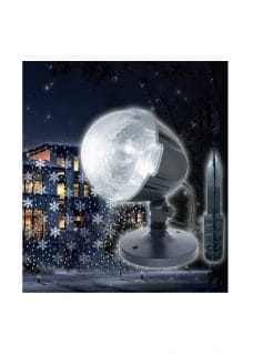 fallinf snow projector