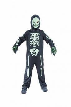 Day Glow Skeleton Costume