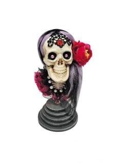 halloween decor skull bride