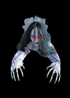 halloween decor zombie torso