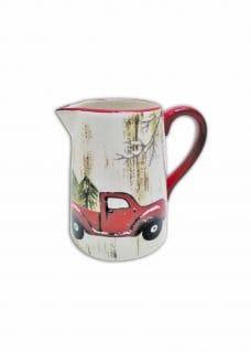 Christmas tableware pitcher